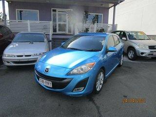 2009 Mazda 3 BL SP25 Blue 6 Speed Manual Hatchback.