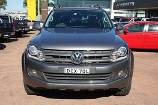 2012 Volkswagen Amarok 2H MY12.5 TDI420 (4x4) Grey 8 Speed Automatic Dual Cab Utility
