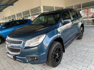 2015 Holden Colorado 7 LT Blue Sports Automatic Wagon.