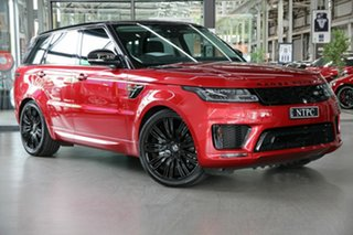 2018 Land Rover Range Rover Sport L494 19MY Autobiography Dynamic Red 8 Speed Sports Automatic Wagon.