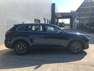 2021 Mazda CX-9 TC Touring SKYACTIV-Drive i-ACTIV AWD Deep Crystal Blue 6 Speed Sports Automatic.