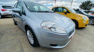 2007 Fiat Punto Dynamic DuaLogic Silver 5 Speed Seq Manual Auto-Clutch Hatchback.