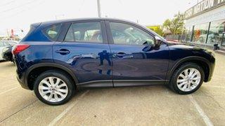 2013 Mazda CX-5 KE1021 Grand Touring SKYACTIV-Drive AWD Blue 6 Speed Sports Automatic Wagon.
