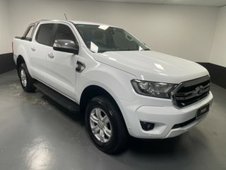 2018 Ford Ranger PX MkIII 2019.00MY XLT Frozen White 10 Speed Sports Automatic Utility.
