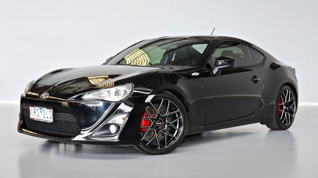 Used Toyota 86 ZN6 GT Thomastown, 2014 Toyota 86 ZN6 GT Black 6 Speed Manual Coupe