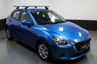 2015 Mazda 2 DJ2HA6 Neo SKYACTIV-MT Blue 6 Speed Manual Hatchback.