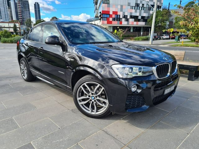 Used BMW X4 F26 xDrive20d Coupe Steptronic South Melbourne, 2014 BMW X4 F26 xDrive20d Coupe Steptronic Black 8 Speed Automatic Wagon