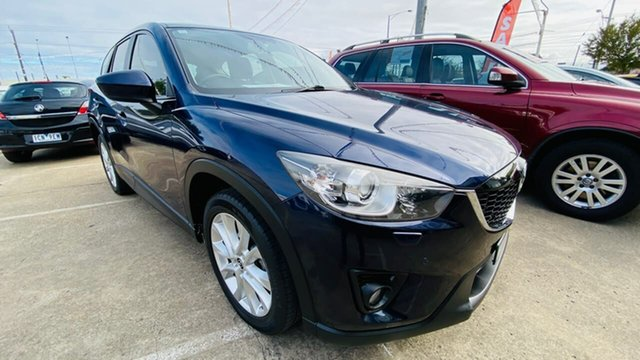 Used Mazda CX-5 KE1021 Grand Touring SKYACTIV-Drive AWD Maidstone, 2013 Mazda CX-5 KE1021 Grand Touring SKYACTIV-Drive AWD Blue 6 Speed Sports Automatic Wagon