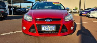 2012 Ford Focus LW Titanium PwrShift Red 6 Speed Sports Automatic Dual Clutch Hatchback.