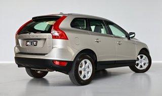 2013 Volvo XC60 DZ MY13 D4 Geartronic Teknik Grey 6 Speed Sports Automatic Wagon.