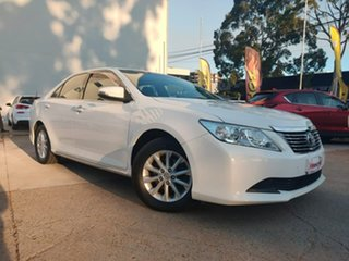 2014 Toyota Aurion GSV50R AT-X White 6 Speed Sports Automatic Sedan.