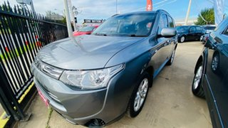 2013 Mitsubishi Outlander ZJ MY14 ES 4WD Grey 6 Speed Constant Variable Wagon