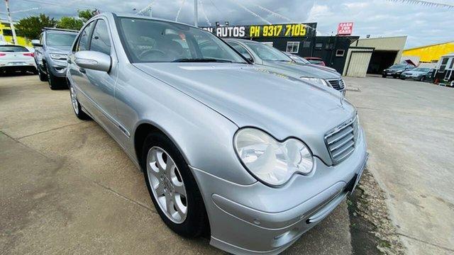 Used Mercedes-Benz C-Class W203 MY2006 C180 Kompressor Classic Maidstone, 2005 Mercedes-Benz C-Class W203 MY2006 C180 Kompressor Classic 5 Speed Automatic Sedan