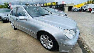 2005 Mercedes-Benz C-Class W203 MY2006 C180 Kompressor Classic 5 Speed Automatic Sedan.