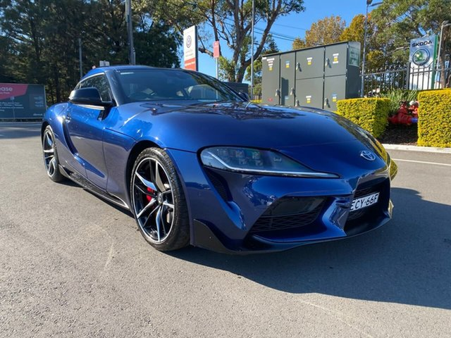 Used Toyota Supra J29 GR GTS Botany, 2019 Toyota Supra J29 GR GTS Blue 8 Speed Sports Automatic Coupe
