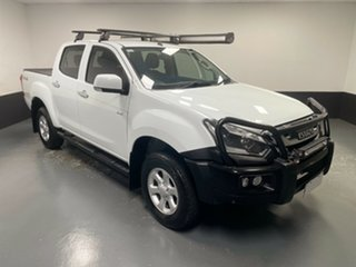 2017 Isuzu D-MAX MY17 LS-M Crew Cab White 6 Speed Manual Utility.
