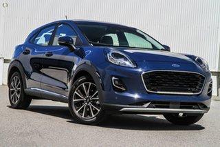 2021 Ford Puma JK 2021.25MY Puma Blue 7 Speed Sports Automatic Dual Clutch Wagon.