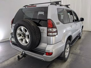 2007 Toyota Landcruiser Prado KDJ120R GXL Silver 6 Speed Manual Wagon