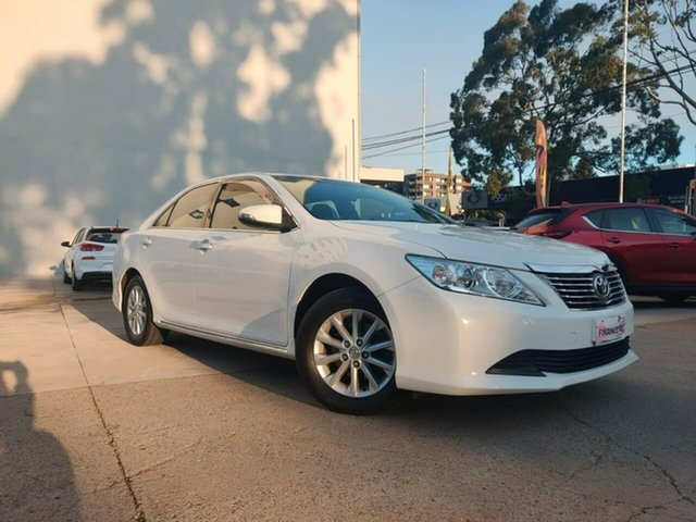 Used Toyota Aurion GSV50R AT-X Goulburn, 2014 Toyota Aurion GSV50R AT-X White 6 Speed Sports Automatic Sedan