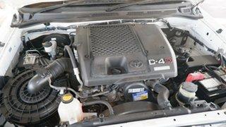 2008 Toyota Hilux KUN16R MY08 SR 4x2 White 5 Speed Manual Utility