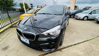 2016 BMW 2 Series F45 218i Active Tourer Steptronic Sport Line Black 6 Speed Automatic Hatchback