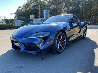 2019 Toyota Supra J29 GR GTS Blue 8 Speed Sports Automatic Coupe.