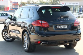 2014 Porsche Cayenne 92A MY15 Diesel Tiptronic Black 8 Speed Sports Automatic Wagon.
