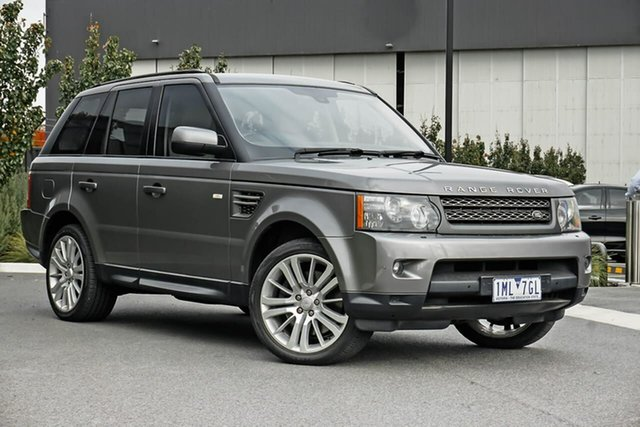 Used Land Rover Range Rover Sport L320 10MY V8 Luxury Essendon Fields, 2010 Land Rover Range Rover Sport L320 10MY V8 Luxury Grey 6 Speed Sports Automatic Wagon
