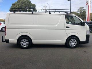 2016 Toyota HiAce KDH201R LWB French Vanilla 5 Speed Manual Van.