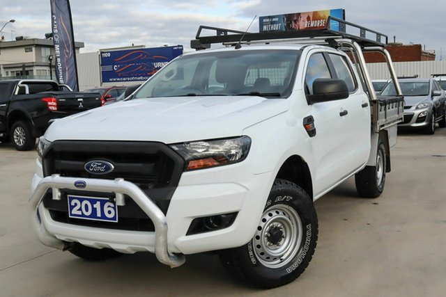 Used Ford Ranger PX MkII XL Coburg North, 2016 Ford Ranger PX MkII XL White 6 Speed Sports Automatic Cab Chassis