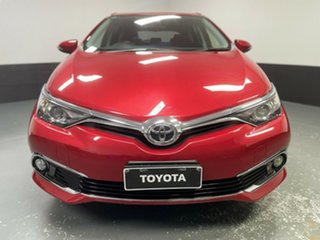 2016 Toyota Corolla ZRE182R Ascent Sport Red 6 Speed Manual Hatchback.