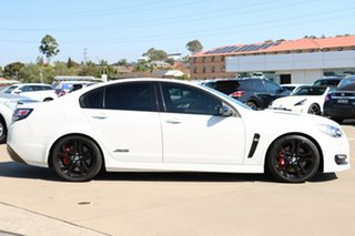 2017 Holden Commodore VF II MY17 SS V Redline White 6 Speed Sports Automatic Sedan