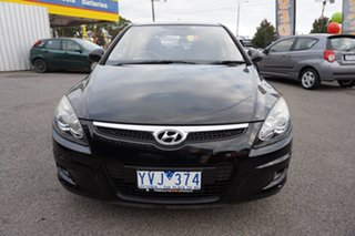 2011 Hyundai i30 FD MY11 SX Phantom Black 4 Speed Automatic Hatchback