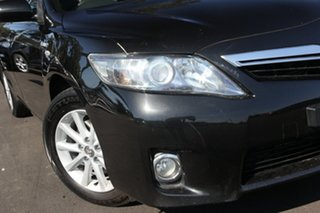 2011 Toyota Camry AHV40R Hybrid Luxury Black 1 Speed Constant Variable Sedan Hybrid.