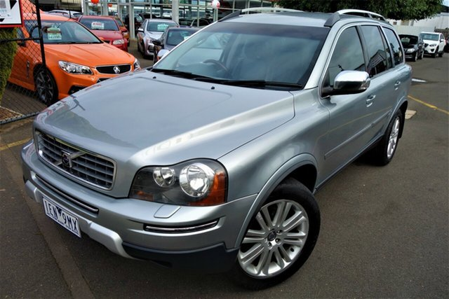 Used Volvo XC90 P28 MY08 D5 Seaford, 2007 Volvo XC90 P28 MY08 D5 Silver 6 Speed Sports Automatic Wagon