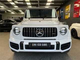 2019 Mercedes-Benz G-Class W463 G63 AMG White Sports Automatic Wagon.