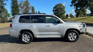 2016 Toyota Landcruiser VDJ200R GXL Silver 6 Speed Sports Automatic Wagon