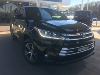 2018 Toyota Kluger GSU55R GX Black Sports Automatic.