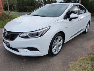 2017 Holden Astra BL LTZ White Sports Automatic Sedan.