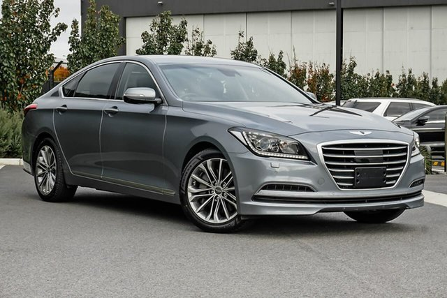 Used Hyundai Genesis DH Essendon Fields, 2014 Hyundai Genesis DH Grey 8 Speed Sports Automatic Sedan