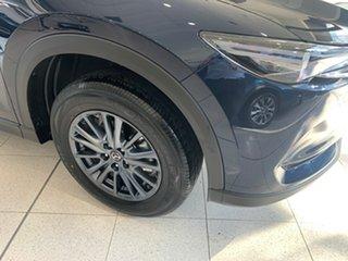 2021 Mazda CX-5 KF2W7A Maxx SKYACTIV-Drive FWD Sport Deep Crystal Blue 6 Speed Sports Automatic.