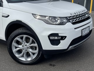 2017 Land Rover Discovery Sport L550 18MY HSE White 9 Speed Sports Automatic Wagon