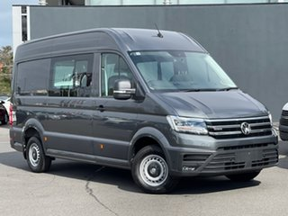 2021 Volkswagen Crafter SY1 MY21 35 MWB 4MOTION TDI410 Grey 8 Speed Automatic Van.