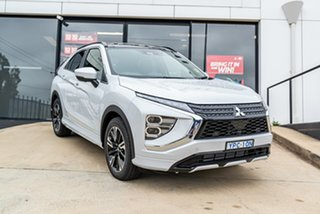 2020 Mitsubishi Eclipse Cross YB MY21 Exceed AWD White Diamond 8 Speed Constant Variable Wagon.