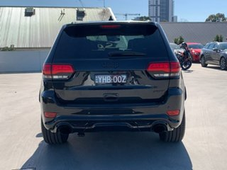 2016 Jeep Grand Cherokee WK MY16 SRT Night Edition Black 8 Speed Sports Automatic Wagon.