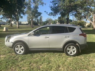 2013 Toyota RAV4 ALA49R GXL AWD Silver Pearl 6 Speed Sports Automatic Wagon