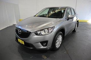 2013 Mazda CX-5 KE1071 MY13 Maxx SKYACTIV-Drive Sport Silver 6 Speed Sports Automatic Wagon