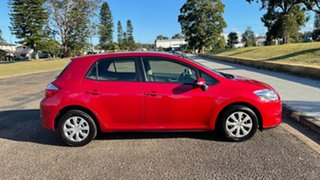 2012 Toyota Corolla ZRE152R MY11 Ascent Red 6 Speed Manual Hatchback