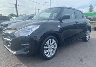 2021 Suzuki Swift AZ Series II GL Navigator Super Black 1 Speed Constant Variable Hatchback.