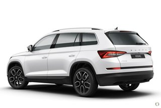 2021 Skoda Kodiaq NS MY21 132TSI DSG White 7 Speed Sports Automatic Dual Clutch Wagon.